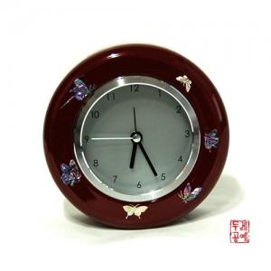 나전원형시계 (나비)