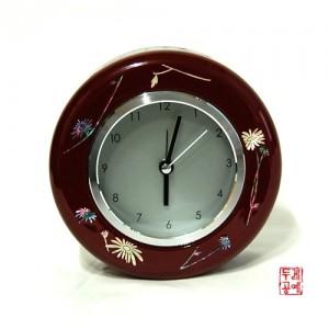 나전원형시계 (야생화)