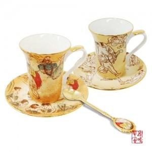 풍속화 에스프레소 커피잔 & 스푼 세트 6p가격:124,000원