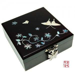 정사각 보석함(나비)가격:25,000원