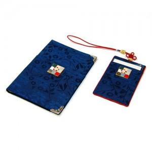 조각보 여권지갑세트(청색)가격:30,000원