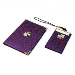 조각보 여권지갑세트(보라)가격:30,000원