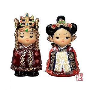 인형 set 소[신라왕,왕비]가격:20,000원