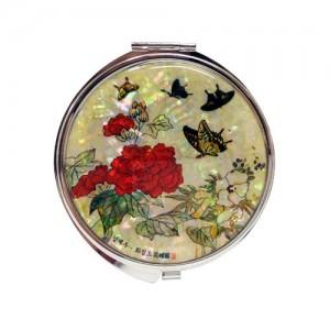 [남계우] 화접도 손거울 - 작약꽃과 나비가격:15,000원