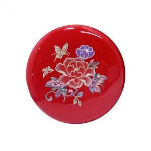 모란꽃나비 원형손거울 [빨강]가격:12,000원