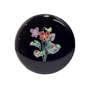 도라지꽃 원형손거울 [검정]가격:12,000원