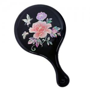 모란꽃나비 손거울가격:18,000원