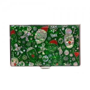 산타클로스 휴대명함집[초록]가격:15,000원