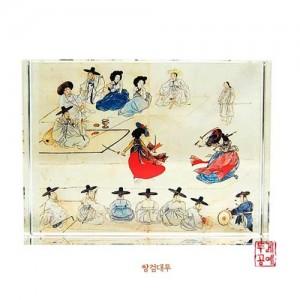 직사각 크리스탈 (쌍검대무,월하정인,주유풍정,한옥)가격:19,000원
