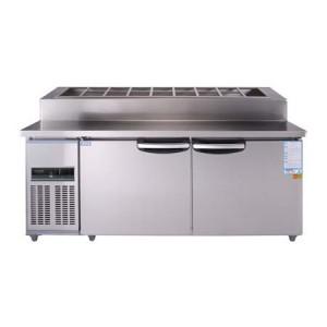 우성 토핑 테이블 CWSM-180RBT(15) 6자 (디지털)밧드:150 냉장용
