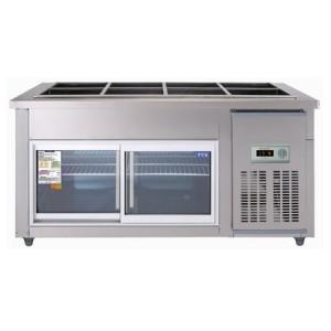 우성 찬밧드글라스냉장고 CWS-150RB(G)(아날로그) 냉장용
