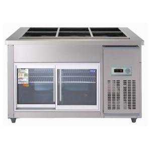 우성 찬밧드글라스냉장고 CWS-120RB(G)(아날로그) 냉장용
