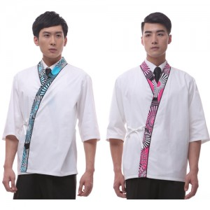 CJ15  남자 백색 소라/핑크 일식복가격:28,600원