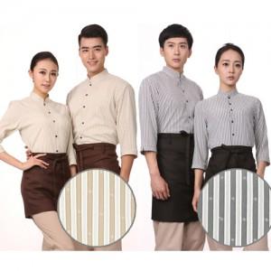 YU12NN 베이지/그레이 차이나카라 스판 칠부셔츠(공용)가격:36,300원