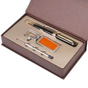 히든메탈열쇠고리(오렌지)+클래식펜(금)