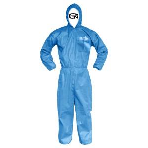 PP 파란색 원피스 보호복 24PCS