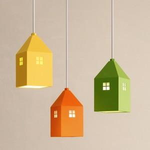 [바이빔] 하우스3등 펜던트[LED]-라운드형(6color)