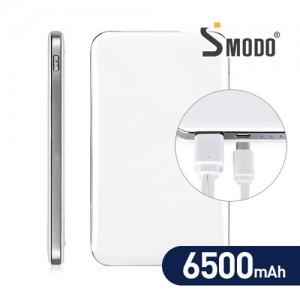 [SMODO-843] 슬림 대용량 6500mAh 보조배터리