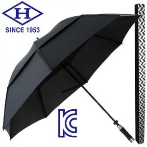 제작용 77 알루미늄 FRP 이중방풍 수동 골프우산-블랙가격:14,850원