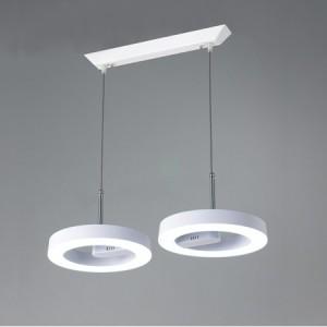 LED 아이원2등 팬던트조명[화이트/블랙]