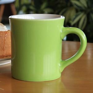 리빙화이트-써니투톤그린머그컵