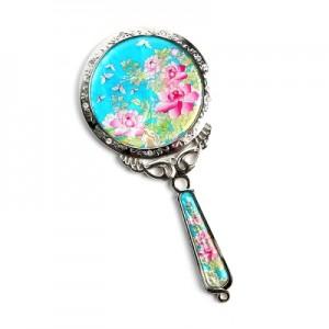 자개공주손거울-목단꽃