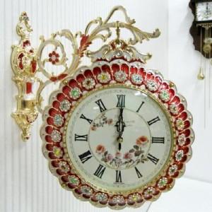 장미 양면시계