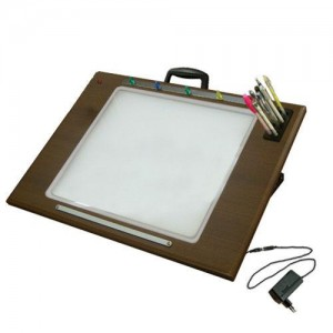 LED BB 라이트박스(4절)자석형 애니메이션 만화 디자인보드 그래픽 일러스트