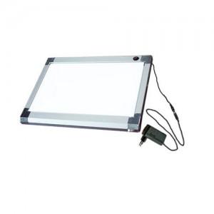 라이트박스(LED-BA4)A4 SILVER 애니메이션 만화 디자인보드 그래픽 일러스트
