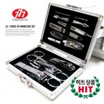쓰리세븐 HD-16000 실버 손톱깎이세트