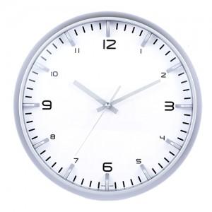 항아리인텍스 은색벽시계