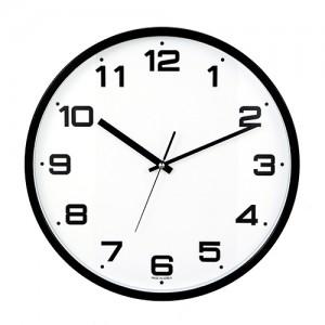 삼육이 원형벽시계 (블랙)