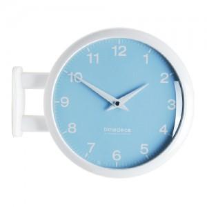 Morden Double Clock 모노 파스텔(Blue)