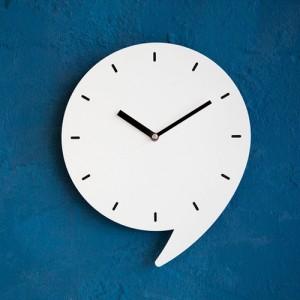 쉼표 심플디자인 벽시계