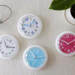 컬러 욕실 시계