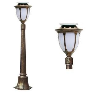 LED 태양광 정원등 [문주잔디등 4713중형-1.1M (1등) 선택-1와트/2와트]
