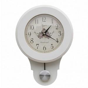 원추백색추벽시계
