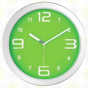 크롬무소음벽시계 (JS-1090)
