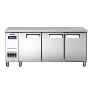 유니크대성 에버젠 간냉식테이블냉동고 UDS-18FTIR 냉동전용/올스텐/디지털 (1800*700*850)