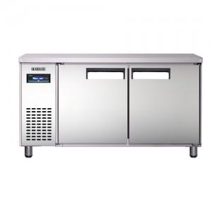 유니크 대성 에버젠 테이블냉장고 UDS-15RFTIR 간냉식 (디지털/올스텐/냉장ㆍ냉동겸용)