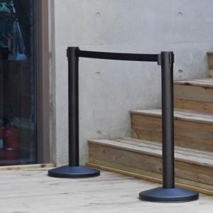 벨트차단봉 블랙 1세트  (2M/3M-벨트형) 12가지 벨트색상가격:140,000원