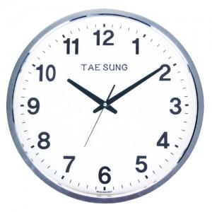TS-400크롬벽시계(벽걸이시계)