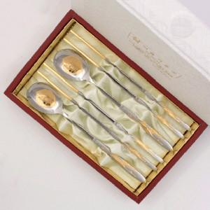 1109_B. 봉황백금수저 2벌(주머니,한지)