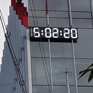 옥외용 전광시계 고급형(주문제작)