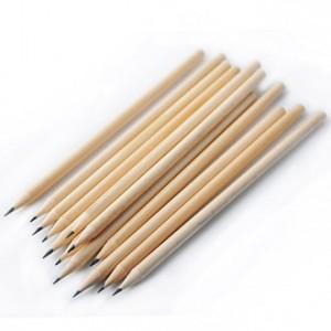 [연필/지우개]원목양절연필