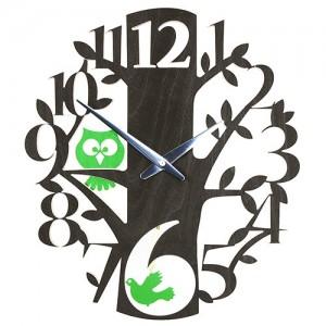 Birds & Owls Clock
