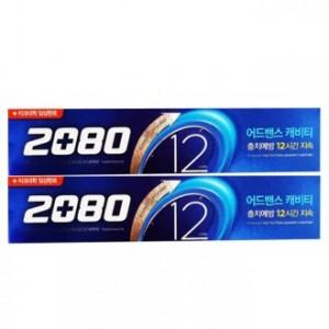 애경2080어드밴스 캐비티치약 120g 2P
