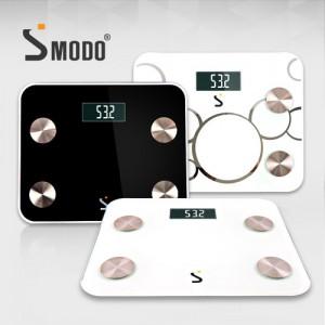[SMODO-103-2] 블루투스 앱연동 스마트 체지방 체중계 소