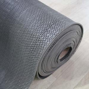 고무 웨이브매트-회색(두께4.5mm*길이15M)