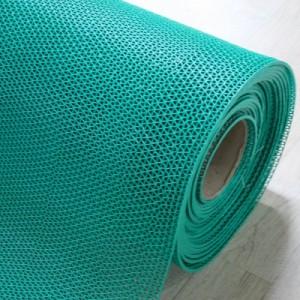 고무매트/웨이브매트-초록(두께3.5mm*길이15M)/맘보매트/바닥매트/미끄럼방지매트